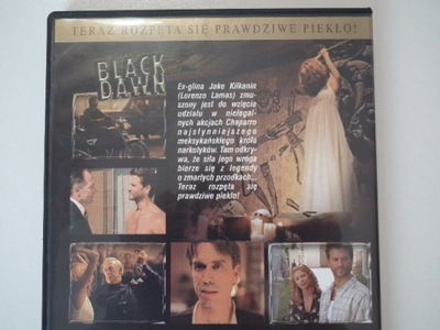 CZARNY ŚWIT  BLACK DAWN   DVD   LORENZO LAMAS
