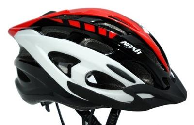 Kask rowerowy NAXA BX2-D rozm.M in-mould LEKKI !