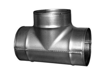 тройник вентиляции T Сто двадцать пять spiro termoflex