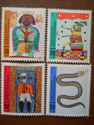 RFN - rysunki dzieci - Mi. 660-63 **