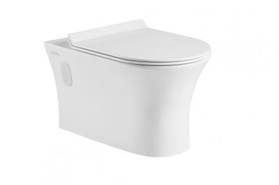 WC misa - DOKOS bezrantowa s pomalým zavretím dosky SLIM