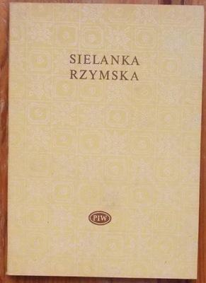 SIELANKA RZYMSKA