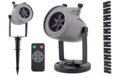 Laserový projektor STAR SPRCHA LASEROVÝ PROJEKTOR LEDOWY 12 VZORY PILOT