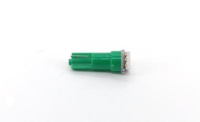 żarówka LED T5 12V 0,25W CANBUS zielona
