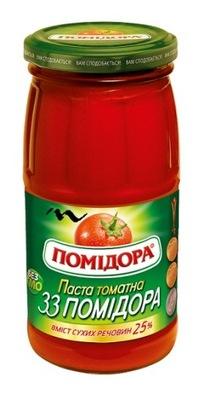 KONCENTRAT POMIDOROWY 25% (UKRAINA) 460G