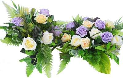 VEĽKÉ KYTICE kvety na cintorín, hrob, AKO NAŽIVE!