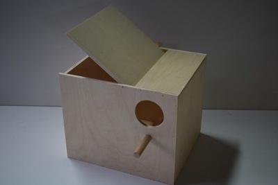 будка гнездования для попугаев - нимф конек rozelli
