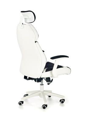 Stoličky gabinetowy rotujúce white-black CHRONO
