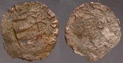 5047. Венгрия , ВЛАДИСЛАВ (1440-1444), DENAR