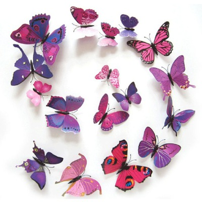 бабочки бабочки 3D ??? на стену ДОСТАВКА с