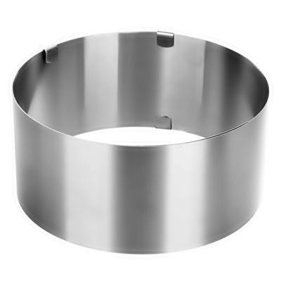 XL пояс Кольца ПИРОГА форма для пирога Форма вверх 12см