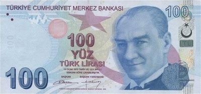 Турция 100 Лира 2009 P-226b UNC