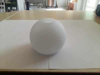 Абажур G9 Мяч , стекло , стеклянный , молочный.