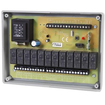 ST6H Ovládač pre 6 záclony na 230VAC - ELMES