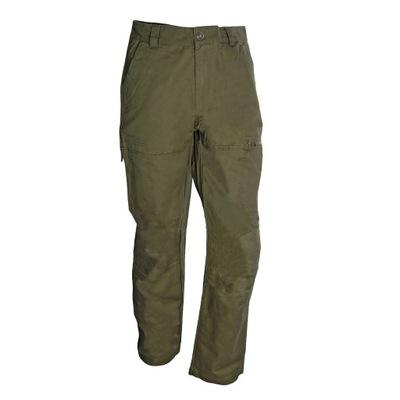 Myśliwskie ,wędkarskie oliwkowe spodnie, mocne