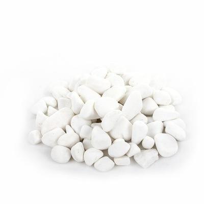 декоративные белое Камни, галька ТАСОС 15 -30 25кг