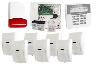 ALARM SYSTÉM SATEL NAOPAK Plus GSM sieť LAN BINGO