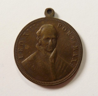 Medal Leon XIII 1887 r. (1356)