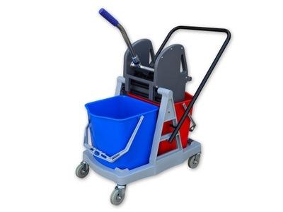 комплект коляска для уборки S4 2x15l