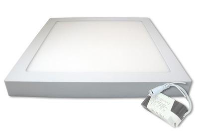 панель LED для настенного монтажа плафон потолок 24W квадратный