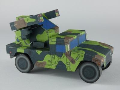 Avenger-Humvee зенитный 1 :35_Extra Модель