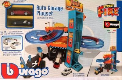 garáž Burago STREET FIRE GARÁŽ +2 auto 3618