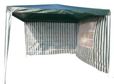 Záhradný stan, predajný stan- GARDEN PAVILION 3x3 m TENT 2 STENY FARBY