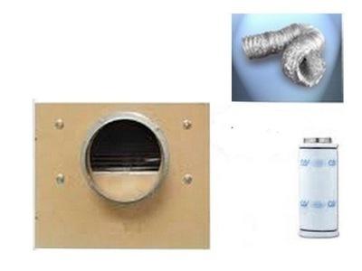 Záhradné svietidlo - Odstredivý ventilátor, MDF1200m3 / h, uhlíkový filter 1500