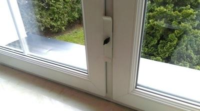Blokada do okna dwuskrzydłowego Zabezpieczenie