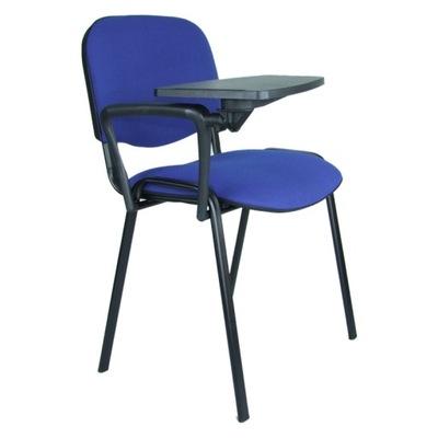 krzesło konferencyjne iso z pulpitem stolikiem