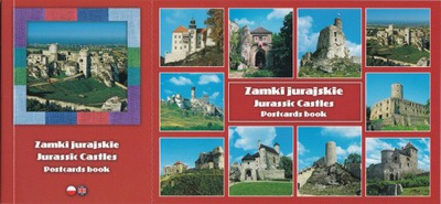 Замки юрского Jurassic Замки Postcards book