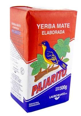 Yerba mate Pajarito - 500 г классическая с Парагвай!