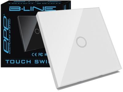 B -LINE Выключатель Соединитель Сенсорный стеклянный стекло 1GW