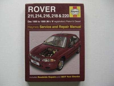 ROVER 200 II ИНСТРУКЦИЯ РЕМОНТА ROVER 211 214 216