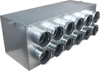 Potrubie, rúra, spona - 160 / 12x75 GREENFLEX cez krabicu + kotúče