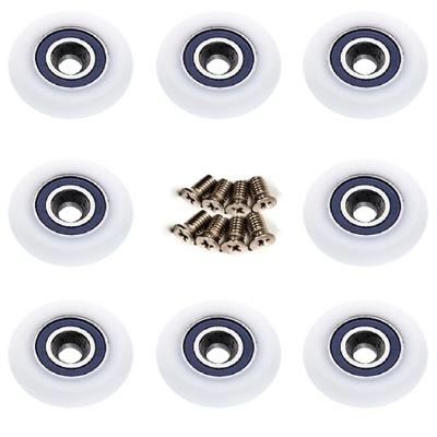 8 шт. кольцо ролики ролик для душевых кабин 25