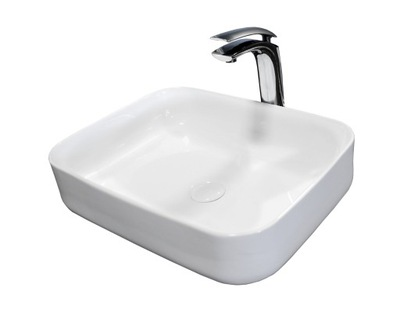 Umývadlo KERAMICKÝ UMÝVADLO DEMI SLIM NA REBAT REA