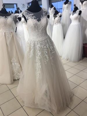 Plus Size Suknia ślubna Szyta Na Miarę U Krawcowej 7248632505