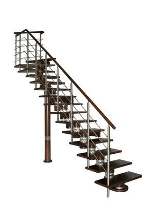 Лестница КОРА-Морено 250 vertical Л -90 12 элементов