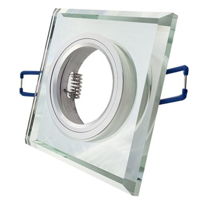 ТВЕРДЫЙ корпус галогеновая лампа СТЕКЛЯННАЯ с GU10 LED стекло