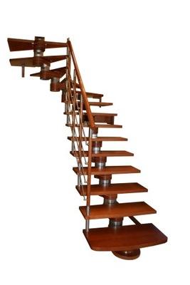 Лестница КОРА модель Moreno 200 Lux Л -90 14 элементов