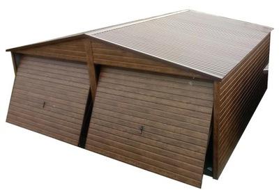 Гаражи из листового металла, Навес гараж консервную Банку 6х6 жесть