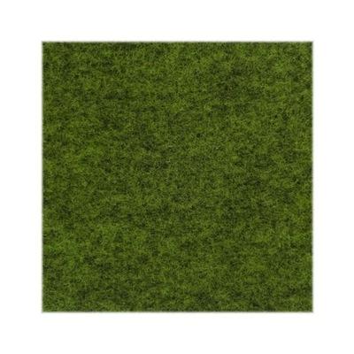 войлок зеленый меланж Мягкий 3 мм, 300г/м2 50x100 см