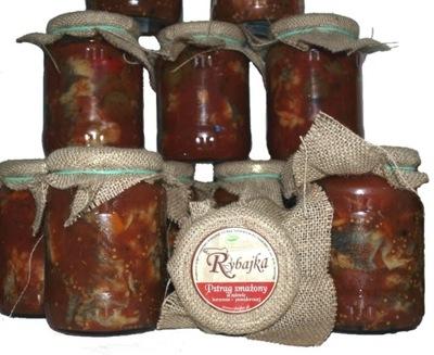 форель в рассоле pomidorowo-коженней 700 г Rybajka
