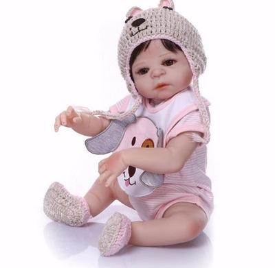 Bábiku baby girl dieťa REBORN 50 cm