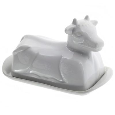 Nádobka na maslo - Maselniczka, maselnica, pojemnik na masło, krowa!