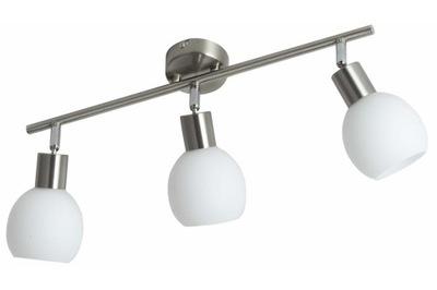 Svietidlá stropné svietidlá - LEDOWA lampa na sufit 3 x E14 satyna 12W LED spot