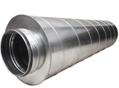 Potrubie, rúra, spona - SIL 160/900 špirálový okrúhly tlmič