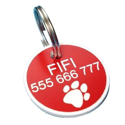 Идентификатор adresówka для маленькой собаки гравер dwus