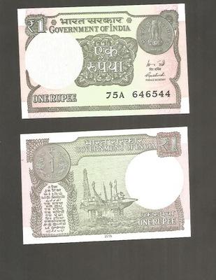Банкноты Индия -- 1 Rupee -- 2017 ??? , UNC !